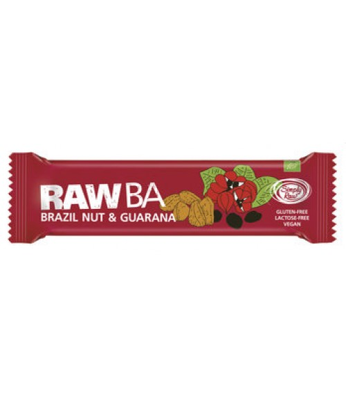 Simply raw Riegel Paranuss Guarana 40g Bio vegan