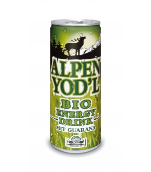 Alpenyod`l Energy-Drink mit Guarana