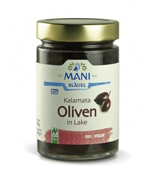 Mani Oliven schwarz in Lake 300g Bio