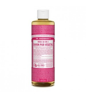 Dr. Bronner s Liquid Soaps Rose | 475 ml