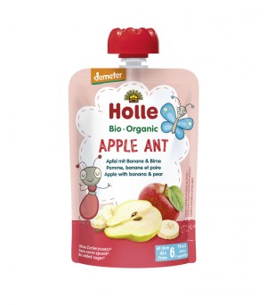 Holle Pouchy Apple Ant 100g Demeter