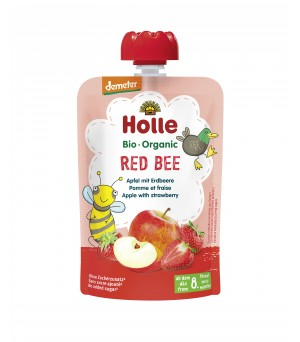 Holle Pouchy Red Bee 100g Demeter