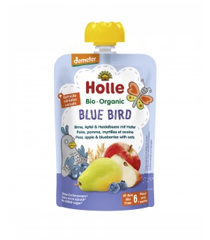 Holle Pouchy Blue Bird 100g Demeter