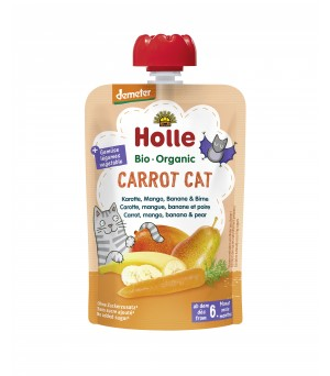 Holle Pouchy Carrot Cat 100g Demeter