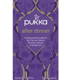 Pukka Tea After Dinner 20x1.8g Bio