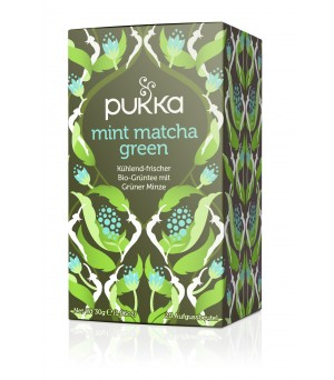 Pukka Tea Mint Matcha Green 20x1.5g Bio