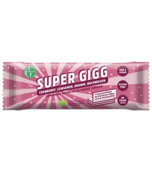 Greenic Gigg Super Cranberry-Leinsamen-Orange 23g Bio