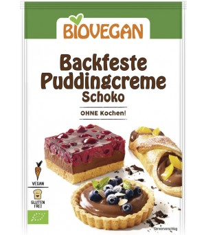 Biovegan Puddingcreme backfest Schoko 55g Bio gf