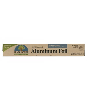If you care Aluminiumfolie, 10 m | 1 Rolle