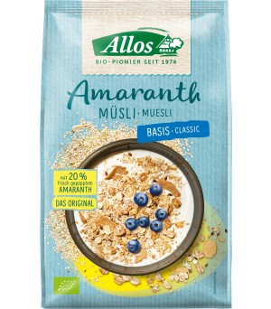 Allos Amaranth Müesli Basis 375g Bio