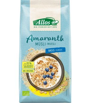 Allos Amaranth Müesli Basis 1.5kg Bio