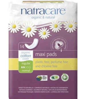 Natracare Binden Maxi normal 14Stk