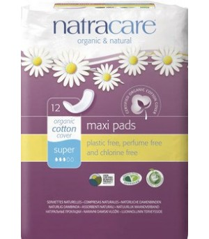 Natracare Binden Maxi super 12Stk