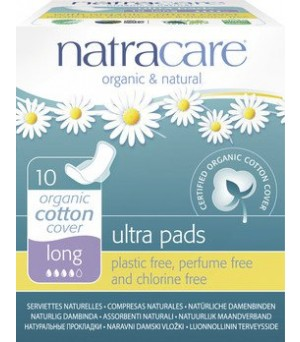 Natracare Binden Ultra long m.Flügel 10Stk