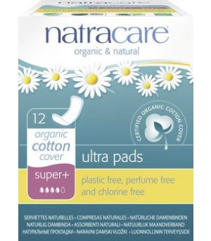 Natracare Binden Ultra super plus 12Stk