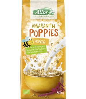 Allos Amaranth Honig Poppies 300g Bio