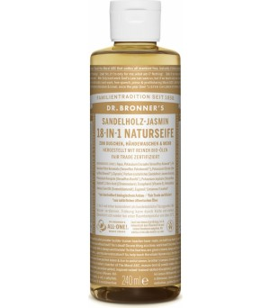 Dr. Bronner s Liquid Soaps Sandalwood&Jasmin, Limited Edition | 240 ml