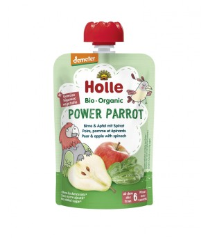 Holle Pouchy Power Parrot 100g Demeter