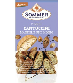 Sommer Dinkel Cantuccini 150g Bio