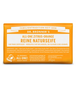 Dr. Bronner's Bar Soaps Citrus Orange 140g