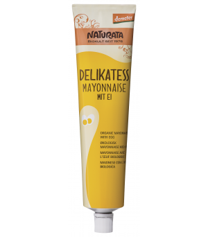 Naturata Mayonnaise Delikatess 185 ml Tube Demeter