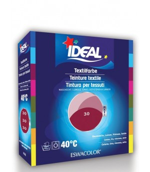 Ideal Baumwolle Maxi Color 30 cassis