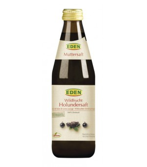 Eden Wildfrucht Holunder-Muttersaft 330ml konv.
