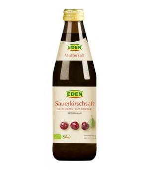 Eden Sauerkirsch Muttersaft 330ml Bio