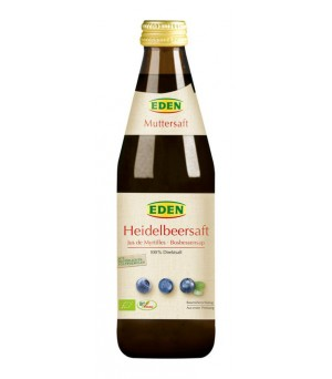 Eden Heidelbeer Muttersaft 330ml Bio