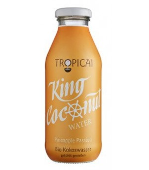 King Coconut Water Pineapple Passion