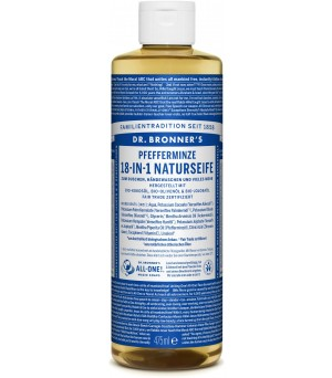 Dr. Bronner s Liquid Soaps Peppermint | 475 ml