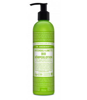 Dr. Bronner's Lotions Patschouli Lime 240ml