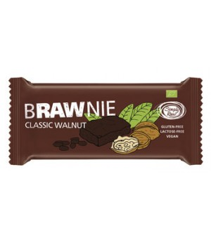 Simply raw Brawnie Walnuss 45g Bio vegan