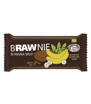 Simply raw Brawnie Banana Split 45g Bio