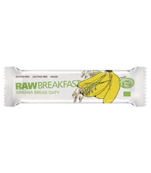 Simply raw Breakfast Hafer Banana 40g Bio vegan