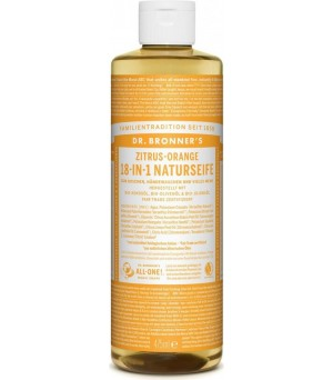 Dr. Bronner s Liquid Soaps Citrus Orange | 475 ml