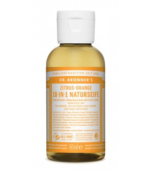Dr. Bronner's Liquid Soaps Citrus Orange 60ml