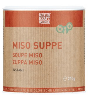 NKW Miso Instant-Suppe 210g