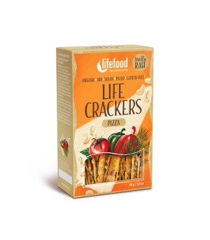 Lifefood Life Crackers Pizza 70g Bio gf vegan
