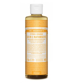 Dr. Bronner's Liquid Soaps Citrus Orange 240ml