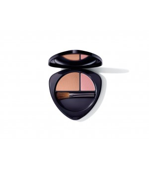 Hauschka Blush Duo 03 sunkissed nectarine