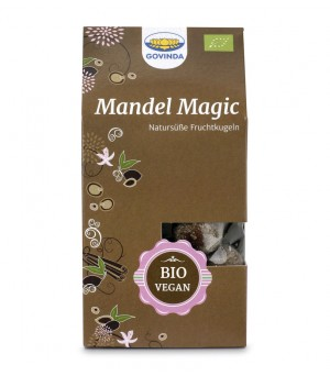 Govinda Kugeln Mandel Magic 120g Bio Raw vegan