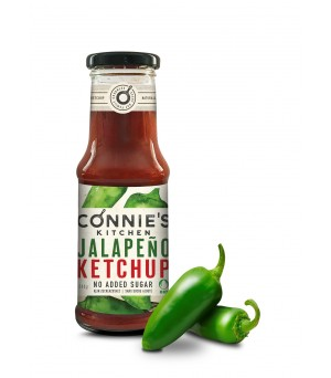 Connie's Kitchen Jalapeno Ketchup 240g Bio