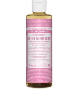 Dr. Bronner s Liquid Soaps Cherry Blossom | 120 ml