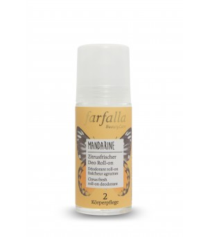 Farfalla Deo Roll on Mandarine 50ml