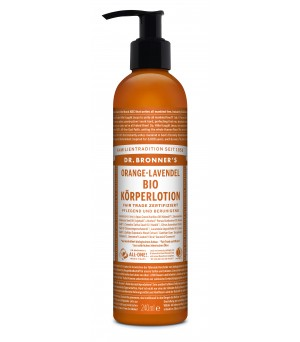 Dr. Bronner's Lotions Orange Lavender 240ml