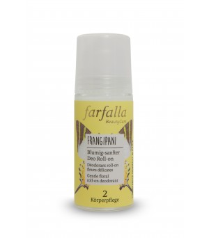 Farfalla Deo Roll on Frangipani 50ml