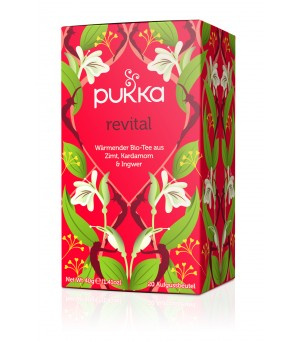 Pukka Tea Revital 20x2g Bio